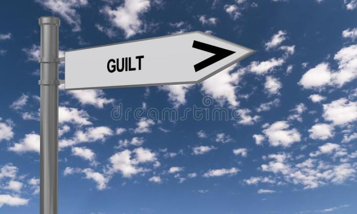 Guilt – why do we put up with it?
